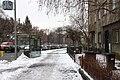 Praha, Vršovice, Ruská u zastávky.jpg