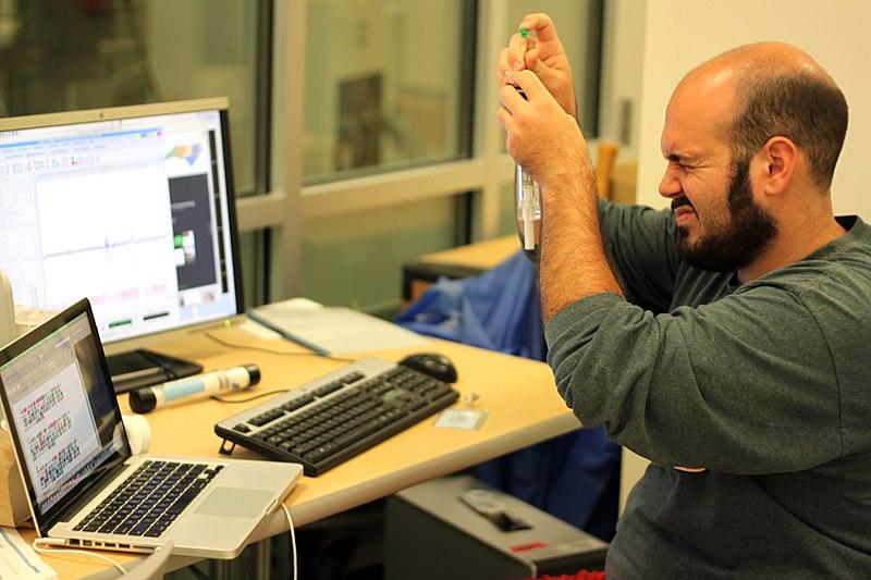 File:Preparing samples for NMR.jpg