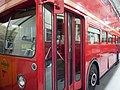 Preserved London Transport Routemaster prototype FRM1 (KGY 4D), LT Museum Acton depot open day, 11 March 2012 (2).jpg