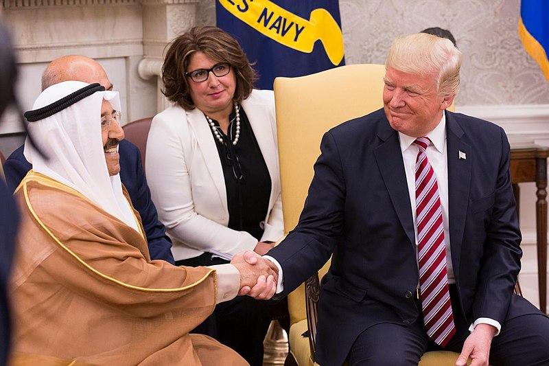 File:President Donald J. Trump and Emir Sabah al-Ahmed al-Jaber al-Sabah of Kuwait, September 7, 2017 (37425764982) (2).jpg