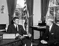 President John F. Kennedy Meets with the U.S. Ambassador to Switzerland, Robert M. McKinney.jpg