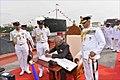 President Ram Nath Kovind awards the President's Colour to the Submarine Arm of Indian Navy (6).jpg