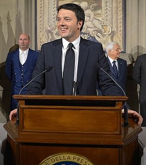 Civic Choice - Matteo Renzi, announcing his government's composition