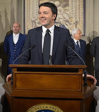 Matteo Renzi - Renzi announcing the formation of his Government