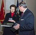 Princess Anne & ANC Superintendent Jack Lechner - Gifts (15727344865).jpg