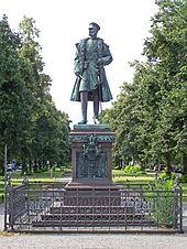 Prinz-Albrecht-Denkmal in der Charlottenburger Schloßstraße (Quelle: Wikimedia)