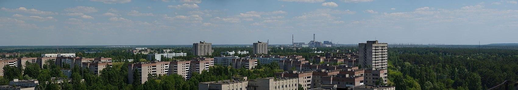 Panoramablick über Pripjat