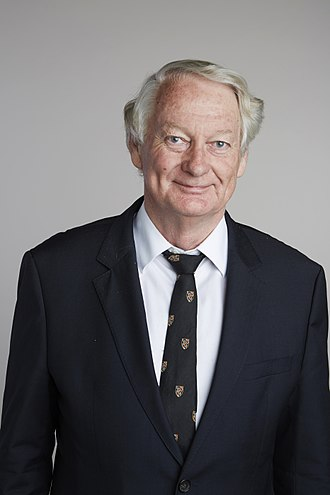 John C. H. Spence - John Spence in 2015, portrait via the Royal Society