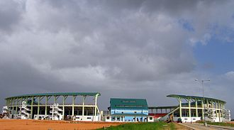 2010 ICC World Twenty20 - Image: Providence Stadium outside