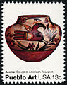 Pueblo Pottery Acoma Pot 13c 1977 issue U.S. stamp.jpg