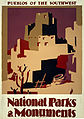 Pueblos of the Southwest poster, ca. 1935.jpg