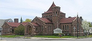 Orleans County Courthouse Historic District - Pullman Memorial Universalist Church