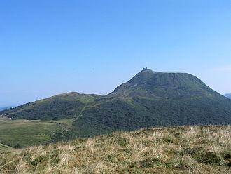 Chaîne des Puys - Image: Puy de dome 2001 07 30