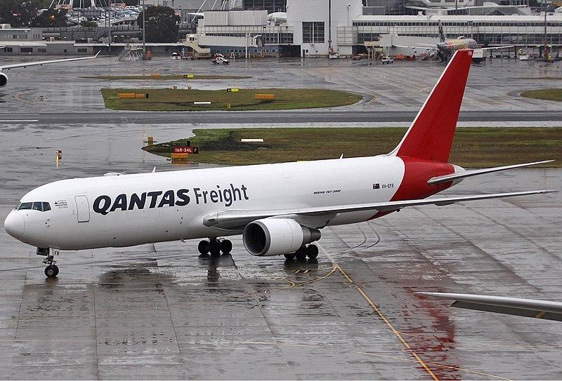 File:QANTAS Freight Boeing 767-300ER SYD Spijkers.jpg