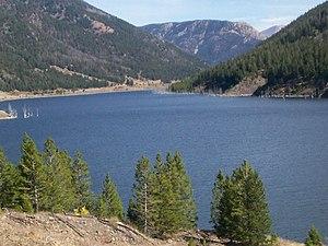 Quake Lake - Image: Quakelakemontana