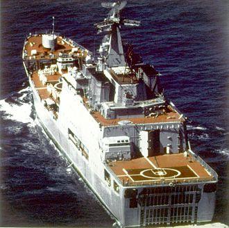 Dock landing ship - Soviet Ivan Rogov-class landing ship