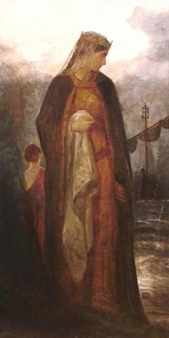 Guinevere - Queen Guinevere by James Archer (c. 1860)