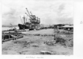 Queensland State Archives 4924 Harbours and Marine BHP Wharf Hamilton October 1953.png