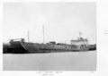 Queensland State Archives 4929 Cattle Transport Boat LST Weewak Cairns 1953.png