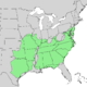 Quercus marilandica range map 1.png