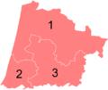 Résultats des élections législatives des Landes en 2012.png