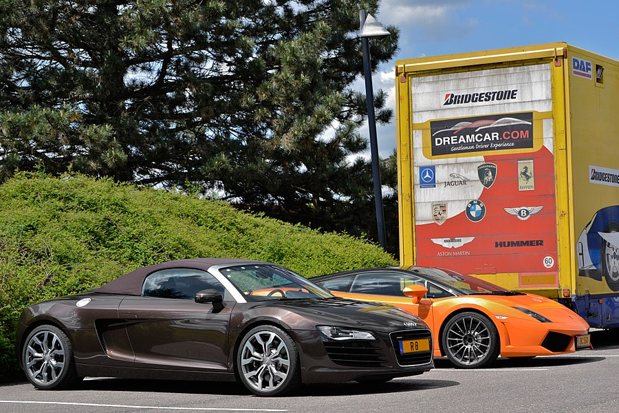 R8 & Gallardo LP 560-4 Bicolore