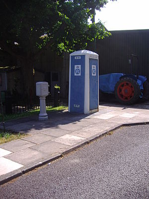 Royal Automobile Club - RAC roadside Telephone box