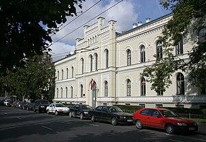 Riga State Gymnasium No.1 - Building of Riga State Gymnasium No.1