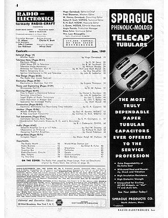 Hope Lange - Image: Radio Electronics June 1949 pg 04