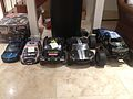 Radio controlled model cars.JPG