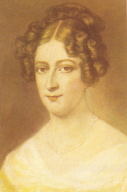 Portrait of Rahel Varnhagen in 1800