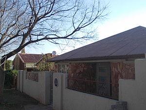 Rahima Moosa - The Rahima Moosa House in Johannesburg.
