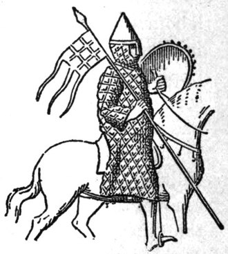 Ralph I, Count of Vermandois - Image of Ralph taken from his seal