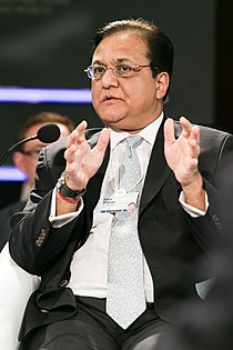 Rana Kapoor, CEO of Yes bank, at the World Economic Forum on India 2012.jpg
