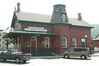 Randolph, Vermont - Randolph Railroad Depot