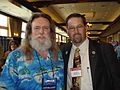 Randy Anderson and Joey Johnson, of the National Rural Letter Carriers' Association (2009).jpg