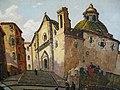 Raoul carre Une église à Calvi.jpg