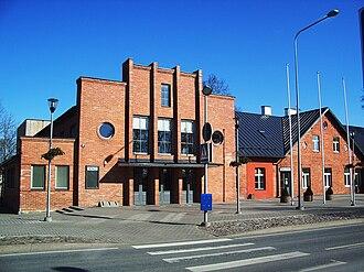 Rapla - Image: Rapla kultuurikeskus