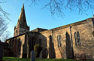 Ratcliffe-on-Soar - Image: Ratcliffe on Soar Holy Trinity Church