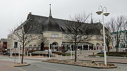 Town hall Westerland, seat of Gemeinde Sylt