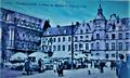Rathaus und Marktplatz in Düsseldorf um 1900 (französisch).png