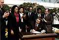 Reagan signs Martin Luther King bill.jpg