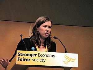 Rebecca Taylor (politician) - Image: Rebecca Taylor at Glasgow