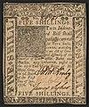 Recto Delaware 5 shillings 1776 urn-3 HBS.Baker.AC 1085889.jpeg