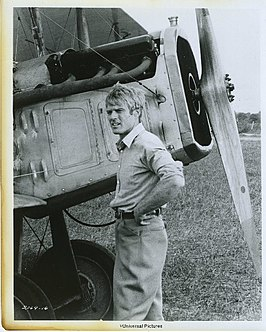 Robert Redford in The Great Waldo Pepper