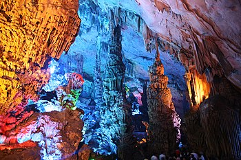 Caverna em Guilin, China