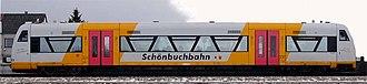 Schönbuch Railway - Regio-Shuttle RS1 of the Schönbuchbahn