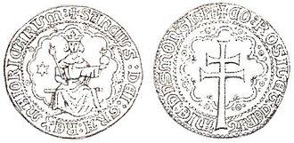 Sancho of Majorca - Image: Reial d'or Sanç