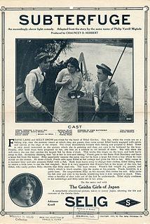 <i>Subterfuge</i> (1912 film) 1912 silent short film