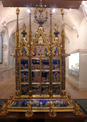 Reliquary of the Santo Corporale - Image: Reliquiario del Corporale di Bolsena by Ugolino di Vieri 1337 1338